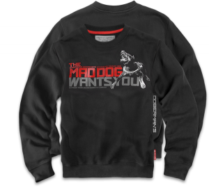 "Sweatshirt ""Mad Dog"""
