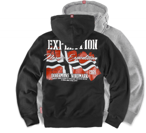 "Hoodie,zip ""Expedition"""