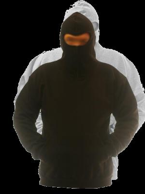 Ninja kapuzensweatshirt