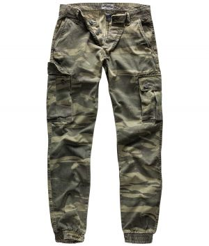 "Cargohose ""Bad Boys"" greencamo"